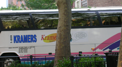 kramer's tour bus